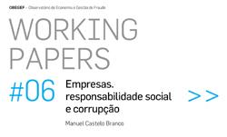 capa do documento de trabalho